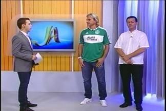Novo atacante do Gaúcho, Sandro Sotilli, esteve ao vivo no JA - Ele e o presidente do clube, Gilmar Rosso, falaram sobre o acerto