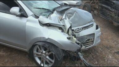 Menina de nove anos morre após ser atropelada por bandidos em Piracicaba, SP - Avô da garota também foi atingido pelo veículo.