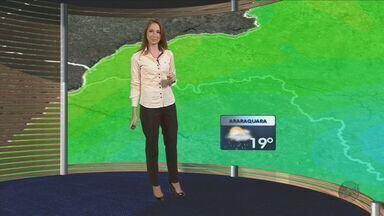 Confira a previsão do tempo para São Carlos e região neste sábado (26) - Confira a previsão do tempo para São Carlos e região neste sábado (26).