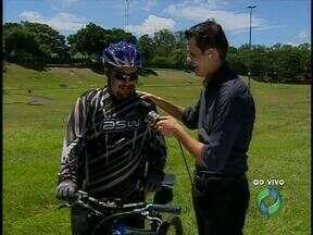 RPC TV promove passeio ciclístico nesse domingo em Foz do Iguaçu - São doze quilômetros de percurso. A saída vai ser no gramadão, segue até a barreira da Itaipu e volta ao gramadão da Vila A.