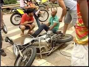 Uma pessoa ficou ferida em um acidente de moto em Ipatinga - Uma pessoa ficou ferida em um acidente de moto em Ipatinga.