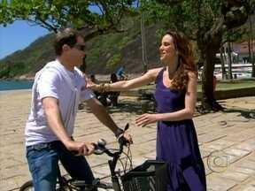 Ana Furtado leva Luiz Henrique Nogueira para pedalar no Rio - O ator conta por que investe na ideia: 'Você cuida da saúde, não polui o ambiente e se locomove com muito menos estresse'