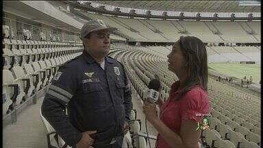 Confira os preparativos para rodada dupla no Castelão - Estádio recebe jogos neste domingo