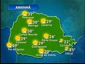 Previsão de sol e frio pela manhã no domingo - Semana começa com tempo firme e ensolarado