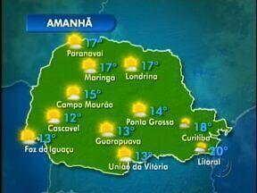 Veja como fica o tempo neste domingo em Foz do Iguaçu - O domingo fica ensolarado em boa parte do estado com poucas variações de nuvens.