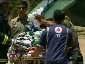 117 feridos continuam internados em hospitais do Sul do país - Fabrício Battaglini acompanha o atendimento aos feridos no hospital de Santa Maria