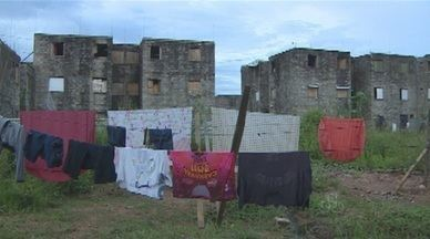 Condomínios que estavam sendo construídos pela prefeitura, foram invadidos em Porto Velho - Os ocupantes tem um prazo de 45 dias para desocupar os imóveis.