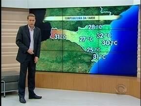 Confira a previsão do tempo para Santa Catarina - A previsão é do meteorologista Leandro Puchalski.