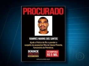 Preso o acusado de matar engenheira da Petrobras - Ramires Marins dos Santos, de 32 anos, já tem passagem pela polícia pelos crimes de lesão corporal e porte de drogas. Ele se apresentou na delegacia.