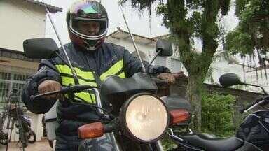 Motoboys terão novas regras para cumprir a partir deste final de semana - Sest/Senat é o único local licenciado para dar cursos para motoboys na Baixada Santista