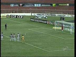 Galo de Jundiaí enfrentou Mirassol na tarde desta quarta-feira - Pelo campeonato paulista, o Galo de Jundiaí (SP) enfrentou o Mirassol, na tardedesta quarta-feira (30), em Jundiaí. Confira no Tem Notícias os gols e até mesmo o empate de pênalti da partida.