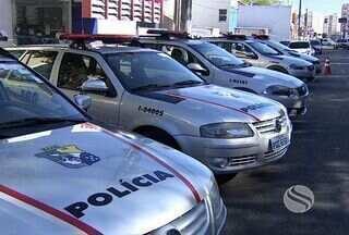 Polícia Militar de Sergipe recebe novas viaturas - Os veículos são equipados com local para transportar presos.