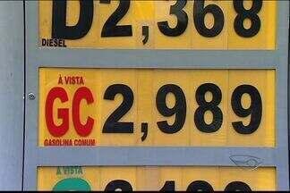 Apesar de queda na conta de energia, preço de combustível aumenta no ES - Aumento vai ser de 4%.