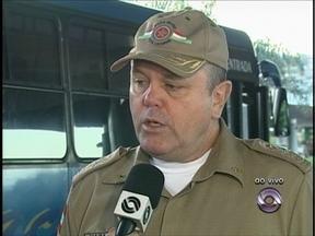 Atentados: Comandante geral da PM fala sobre a série de atentados em SC - Atentados: Comandante geral da PM fala da segurança do transporte coletivo.