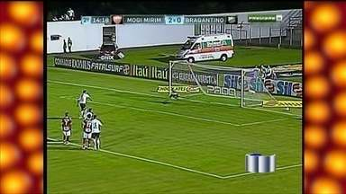 Mogi se impõe e tira invencibilidade do Braga no Paulistão - Com autonomia, o Mogi Mirim manteve o aproveitamento de 100% em casa no Campeonato Paulista na noite deste domingo (3). Com uma goleada por 4 a 1, tirou a invencibilidade do Bragantino, pela quinta rodada, no Estádio Vail Chaves.
