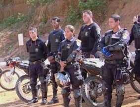 Policiais militares recebem treinamento para patrulhamento com motos, em Ariquemes - A região do Vale do Jamari tem aproximadamente 50 veículos.