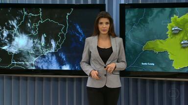 Chuva continua nesta terça-feira em quase todo o estado - Maiores volumes de água são esperados na Zona da Mata e no Vale do Rio Doce.