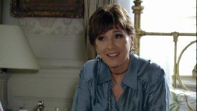 Aída não consegue falar com Wanda - Rachel conta para Carlos que a irmã está perseguindo Wanda e tenta provocar Amanda