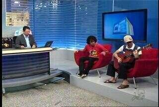 CETV Juazeiro do Norte entrevista o grupo Tiro Certeiro - Banda vai se apresentar neste fim de semana na cidade.