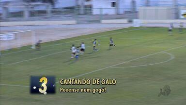 Confira o Top 5 da rodada do Cearense - Veja os cinco lances que marcaram a rodada.
