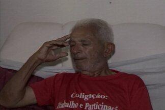 JPB2JP: Homem, encontrado perambulando em Sergipe, diz ser da Paraíba - Ele pede ajuda para encontrar os parentes.