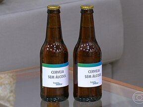 Cervejas sem álcool podem ter pequena quantidade da substância na composição - É preciso prestar atenção no rótulo da cerveja sem álcool. Algumas desta bebidas podem ter uma pequena quantidade de álcool na composição. Segundo o Ministério da Agricultura, é considerada bebida alcoólica aquela que tiver até 0,5% em volume.