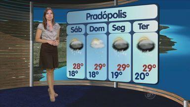 Previsão do tempo – Ribeirão e região – 22/02 - Confira o tempo para esta sexta-feira.