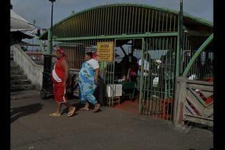 Terminal de embarque da Praça do Pescador, no Ver-o-Peso, será revitalizado - Obras devem começar na semana que vem.