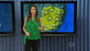Verão é o mais seco dos últimos 12 anos em Belo Horizonte - Veja no mapa os detalhes da previsão do tempo em Minas.