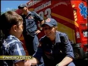 Menino de dois anos é encontrado após ficar 12 horas desaparecido em Pinheiro Preto - Menino de dois anos é encontrado após ficar 12 horas desaparecido em Pinheiro Preto