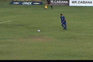 Confiança vence o Estanciano: 2 a 1 - Resultado garantiu ao time azulino liderança isolada do Campeonato Sergipano.