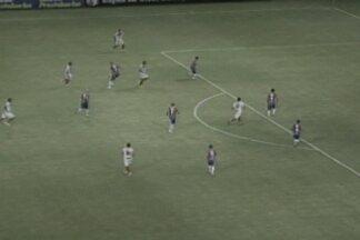 Confira os resultados dos jogos do Campeonato Paraibano e da Copa do Nordeste - Torcedores do Campinense não ficaram satisfeitos com resultado contra o Fortaleza.