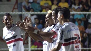 Confira os gols da rodada do Campeonato Estadual - Santa Cruz venceu o Belo Jardim, Sport ganhou do Serra Talhada e Náutico foi batido pelo Pesqueira.
