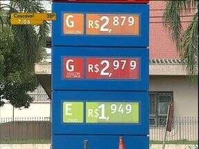Variação é grande dos preços de combustíveis em Curitiba - A gasolina apresentou queda nos últimos dias.