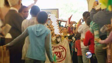 Pouso Alegre recebe hoje os símbolos da jornada mundial da juventude - Pouso Alegre recebe hoje os símbolos da jornada mundial da juventude