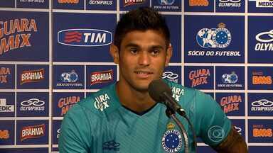 Luan deve ser o companheiro de Anselmo Ramon no ataque do Cruzeiro - Time enfrenta o Tombense pelo Campeonato Mineiro.