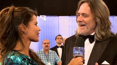 José de Abreu comenta participação no 'Melhores' - Ele foi indicado com Juliano Cazarré e Marcos Caruso para Ator Coadjuvante