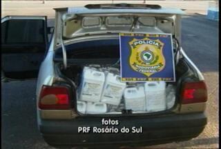 Agrotóxicos são apreendidos em Rosário do Sul. - Foram apreendidos 600 litros.