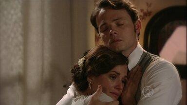 Teodoro perdoa Sandra - Eles concordam que Ângelo será criado como irmão dela