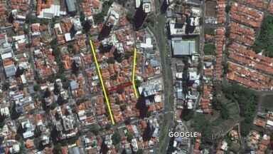 Obras bloqueiam rua no bairro Cambuí, em Campinas - A Rua Américo Brasiliense no bairro Cambuí, em Campinas (SP) fica interditada a partir das 8h30 desta sexta-feira (8).