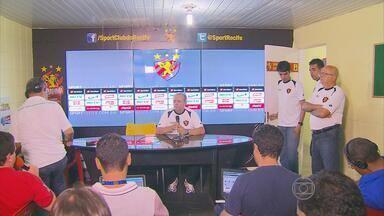 Vadão não resiste às cobranças e deixa o comando do Sport - Treinador ficou três meses à frente da equipe rubro-negra