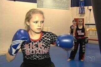 Mulheres vão à luta em modalidades diferentes - Time das 'goianas' que praticam artes marciais cresce cada vez mais.
