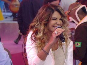 Foram me chamar... Elba Ramalho e Péricles cantam juntos - Clássico 'Alguém me avisou' ganha versão exclusiva no palco do Esquenta!