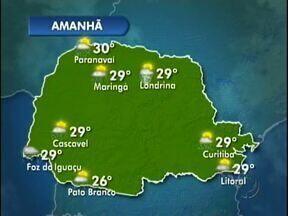Fim de semana com chuva na região oeste - O tempo segue instável até domingo. Em Francisco Beltrão a previsão é de chuva na próxima semana.