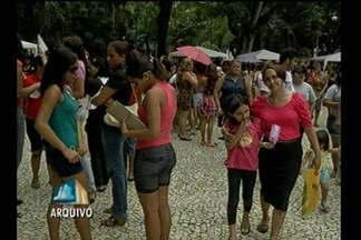 Programação na Praça Batista Campos, em Belém, homengeia mulheres - 600 voluntários vão trabalhar no evento.
