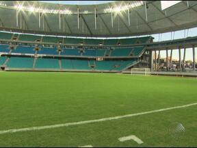 Consórcio responsável pela Arena Fonte Nova faz entrega simbólica do estádio - Com 99% das obras concluídas, nesta sexta-feira também foi dia de homenagear as mulheres.