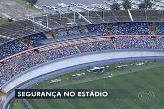 Definido o esquema de segurança para o clássico entre Goiás e Vila Nova, em Goiânia - Entre as principais medidas está a mudança de alas das torcidas.Partida será disputada no próximo domingo (10), no Estádio Serra Dourada.