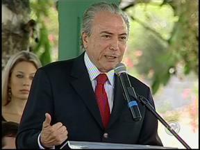 Michel Temer participa de comemorações ao aniversário de Tietê, SP - O vice-presidente da República chegou a região durante a manhã desta sexta-feira (8). Ele participou das festividades de aniversário da cidade que completou 171 anos.