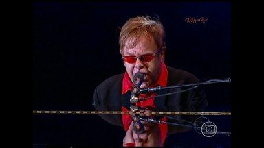 Elton John se apresenta no Mineirão neste sábado - Sucessos dos 40 anos de carreira serão tocados