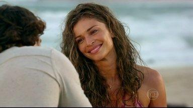 Grazi apresenta os personagens de 'Flor do Caribe' - Protagonistas descrevem a trama que estreia hoje